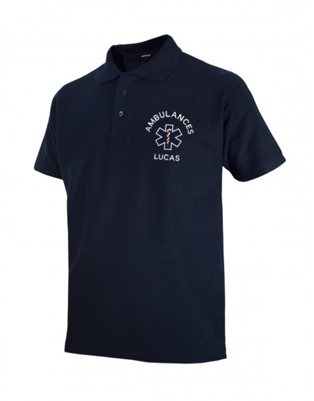 Polo BASIC homme marine