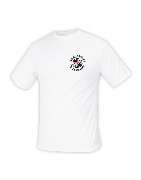 Tee-Shirt ambulancier blanc