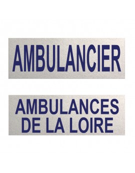 Dossard ambulancier 3M personnalisable - B40058