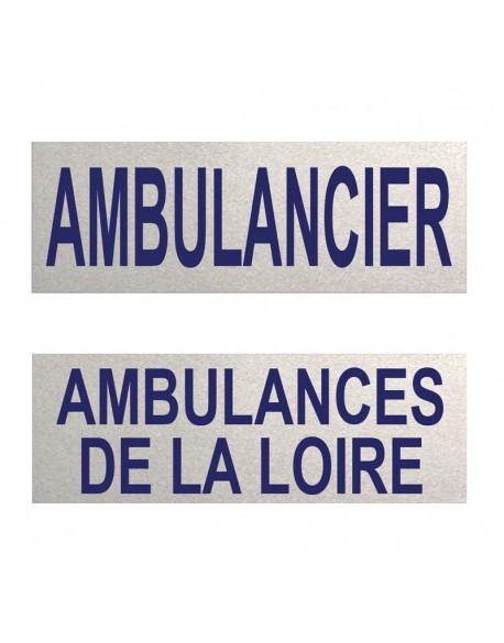 Dossard ambulancier 3M personnalisable - B40058