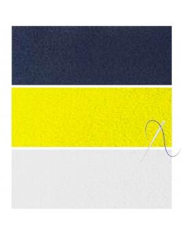 Velcro boucle - Fourniture et pose pour dossard - C50009