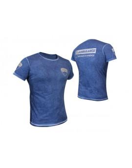 Tee-Shirt 112 Line Blue clash