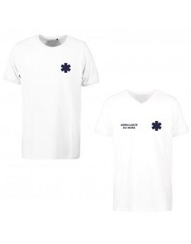 Tee-shirt PROWEAR iso 15797 homme blanc - TEE1001-TEE1011