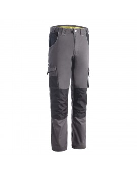 PANTALON DE TRAVAIL STRETCH RICH' BICOLORE