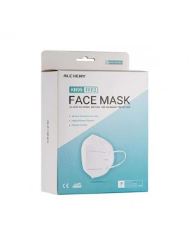10 MASQUES FFP2/KN95 de type demi-masques filtrants à usage unique
