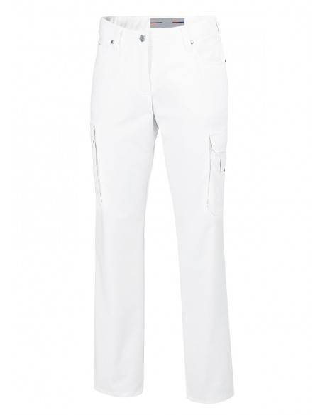 JEAN'S MED&CARE STRETCH BLANC FEMME
