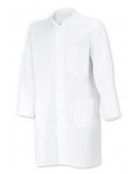 BLOUSE MEDICALE MED&CARE UNISEXE BLANCHE ISO 15797