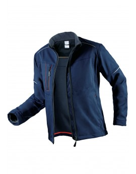 SOFTSHELL MED&CARE HOMME MARINE ISO 15797