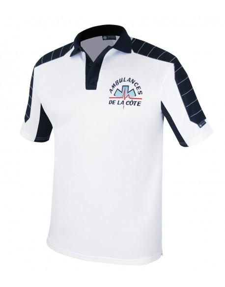 Polo Medic-Line blanc - Fin de série grammage lourd - A119030