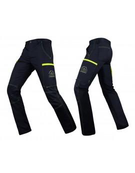 Pantalon ULTIMATE Marine/Jaune fluo - A118971