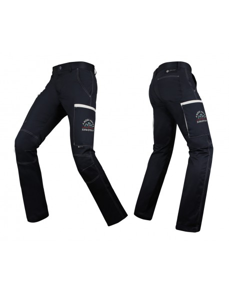 Pantalon ULTIMATE Marine/Blanc
