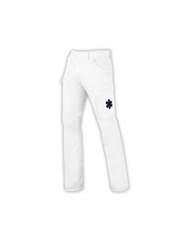 Pantalon d'intervention Basic blanc - A119430