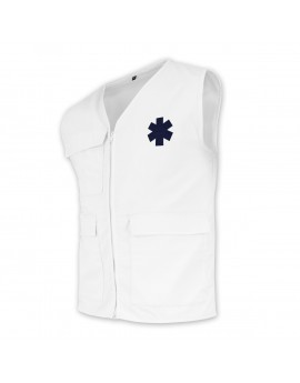 Gilet d'intervention BASIC blanc - A119435
