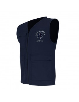 Gilet d'intervention BASIC marine - A119435