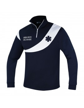 Sweat AMBULANCE Évolution Marine/Blanc - A119460