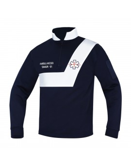 Sweat AMBULANCE Origin' Marine/Blanc - A119470