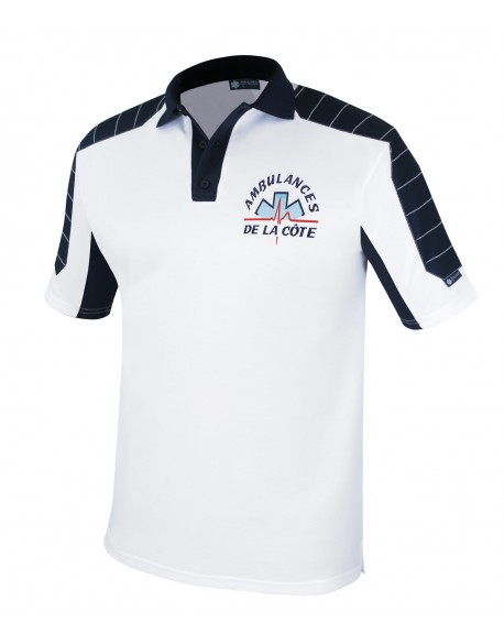 Polo ULTIMATE Edition blanc/marine