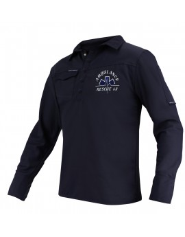 Polo-shirt ANTI-BACTÉRIEN IP manches longues - IP20070